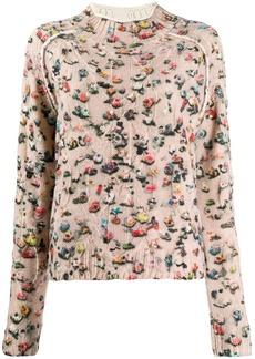 Acne Studios crowd print sweater