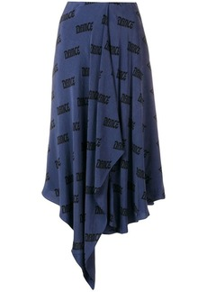 Acne Studios dance scarf skirt