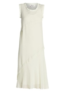 Acne Studios Delisa Georgette Midi Dress