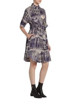 Acne Studios Della Linen Theater Dress