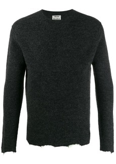 Acne Studios distressed trim jumper