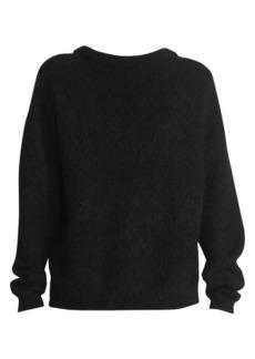 Acne Studios Dramatic Mohair-Blend Crewneck Sweater