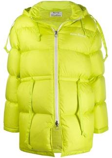 Acne Studios drawstring waist padded coat