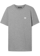 Acne Studios Ellison Appliquéd Cotton-jersey T-shirt