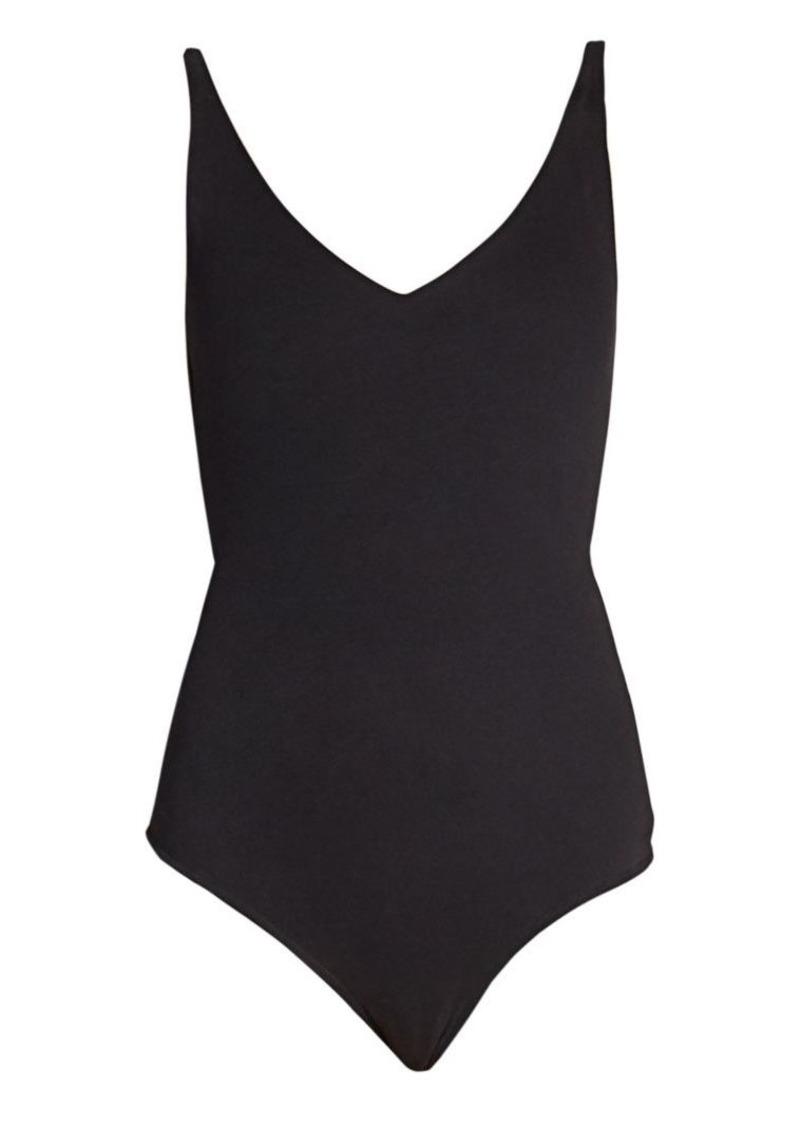 Acne Studios Ellisy Peached Sleeveless Bodysuit