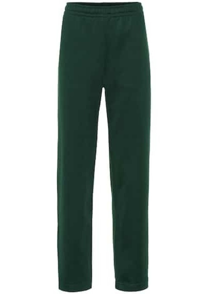 Acne Studios Face cotton-blend trackpants