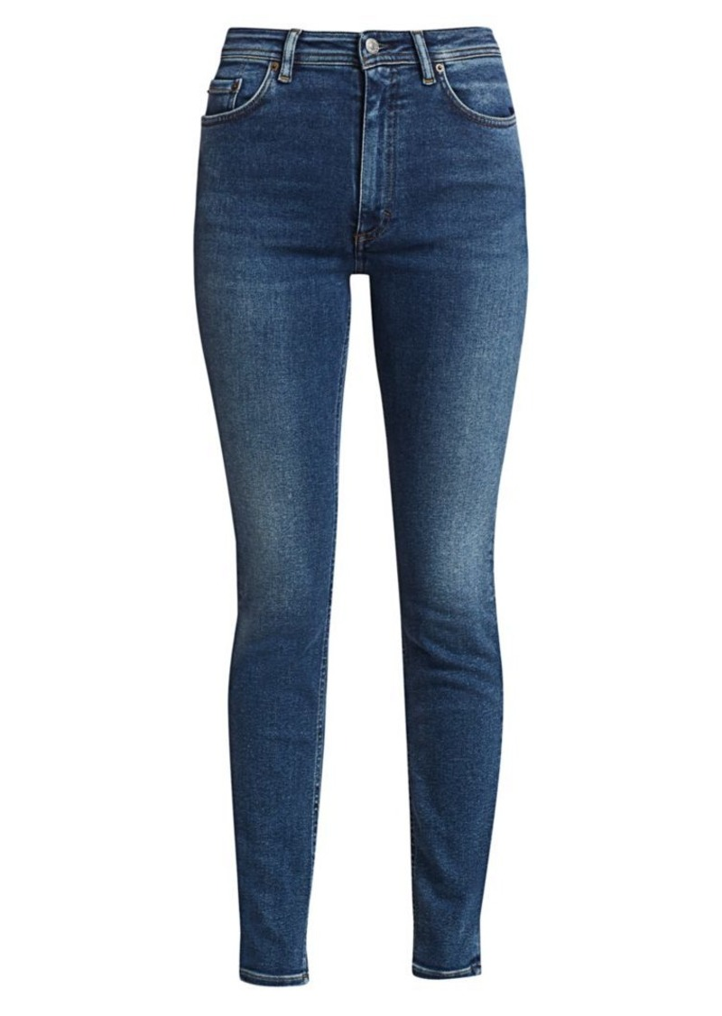 Acne Studios Faded Slim-Leg Jeans