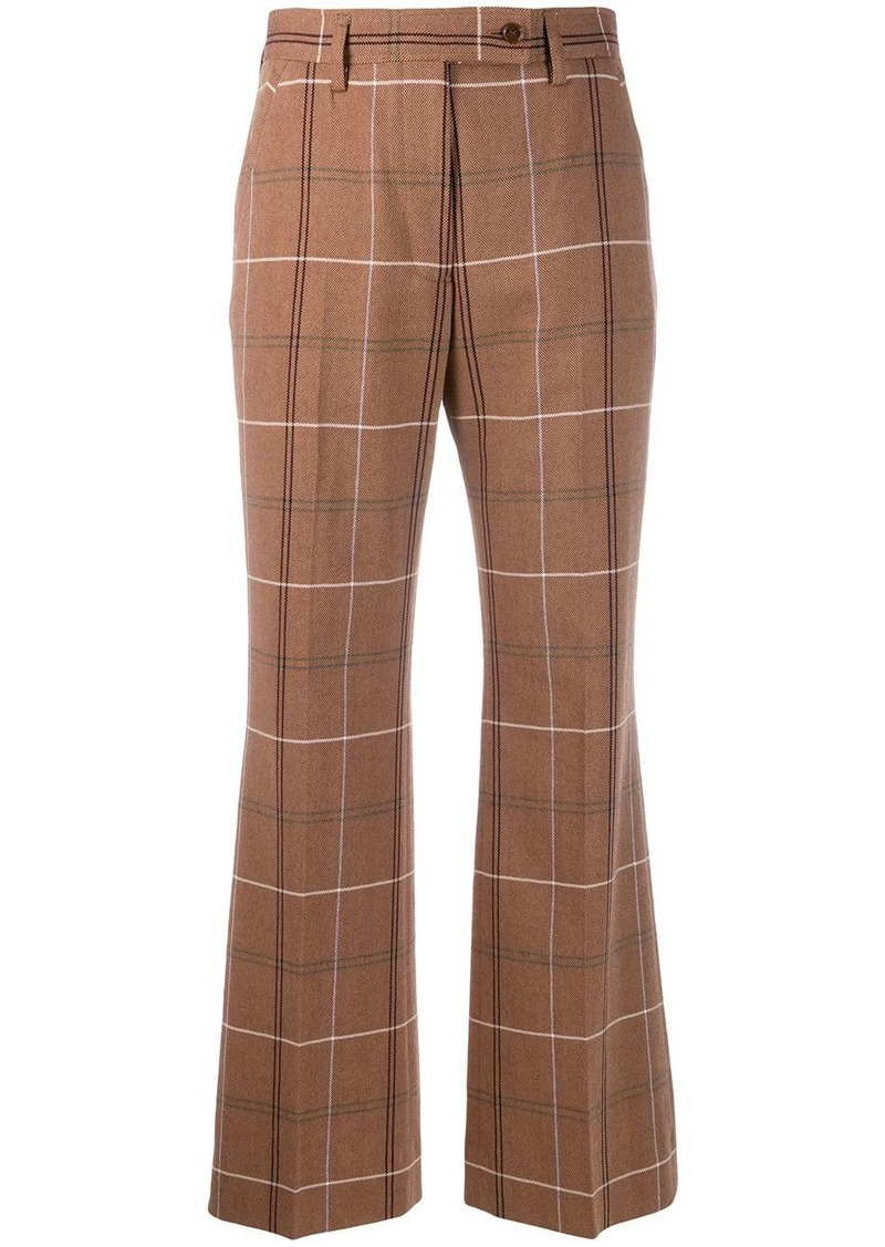 Acne Studios fitted low waist trousers