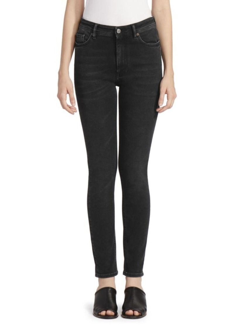 Acne Studios Five-Pocket Skinny Jeans