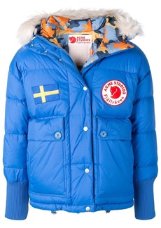 Acne Studios x Fjällräven Reversible down jacket