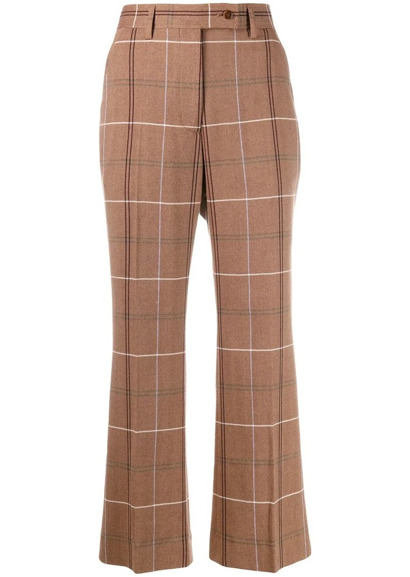 Acne Studios flared crop trousers