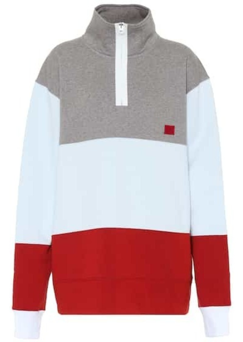 Acne Studios Flint Flag Face cotton sweatshirt