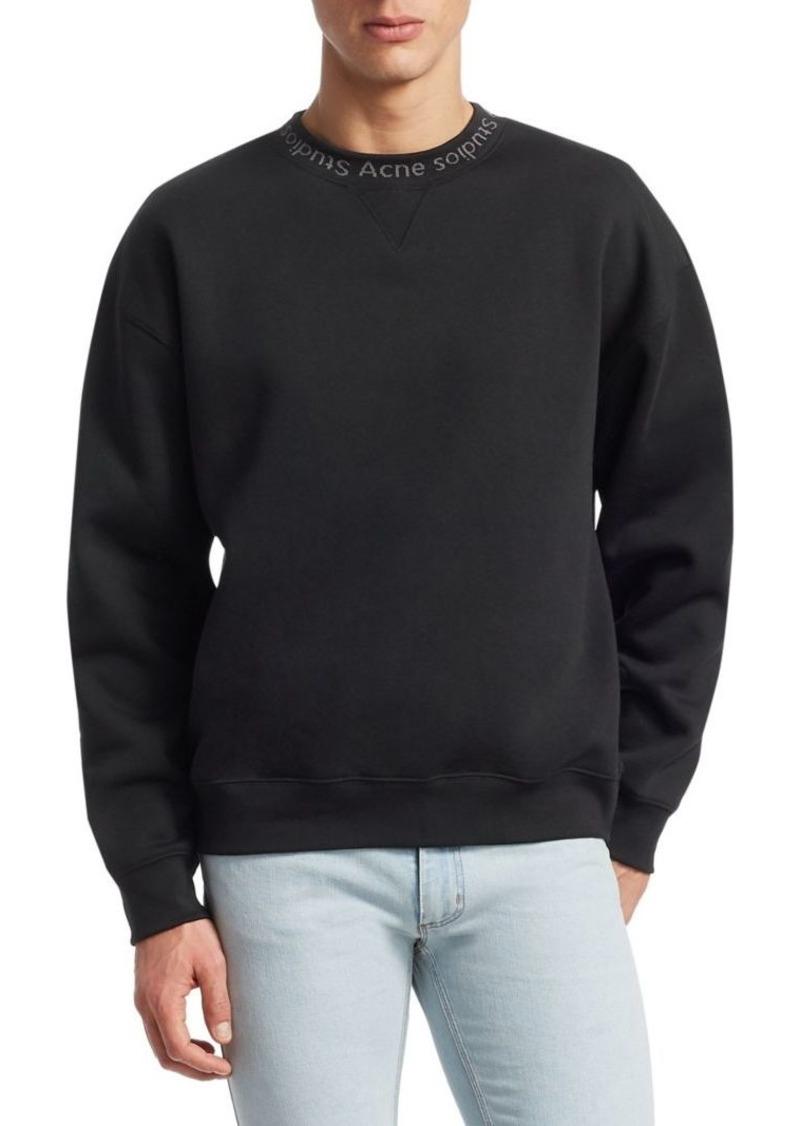 Acne Studios Flogho Logo Sweatshirt