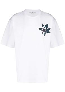 Acne Studios flower print T-shirt