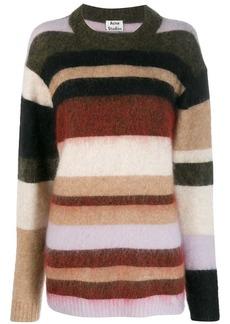 Acne Studios fluffy stripes sweater