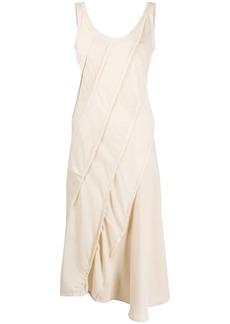 Acne Studios diagonal panelled dress