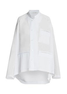 Acne Studios Georgette Pocket Shirt