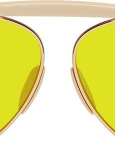 Acne Studios Gold & Yellow Howard Sunglasses