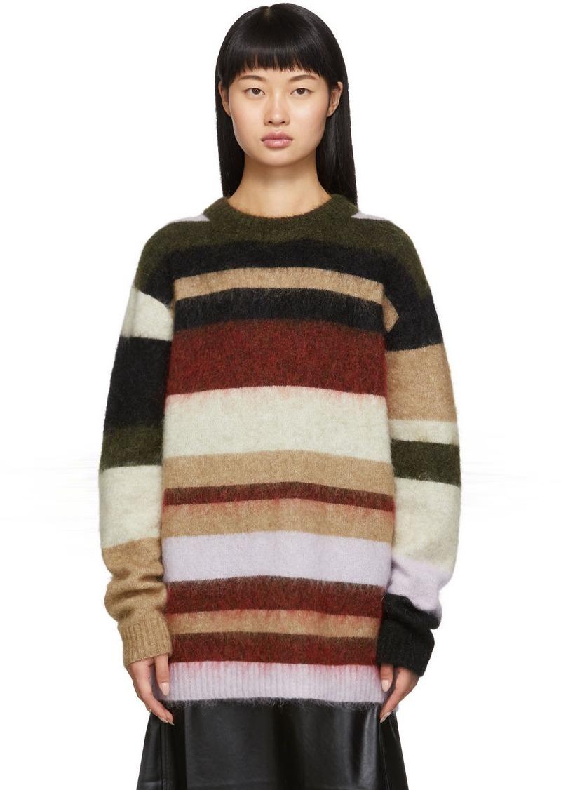 Acne Studios Green & Red Kalbah Sweater