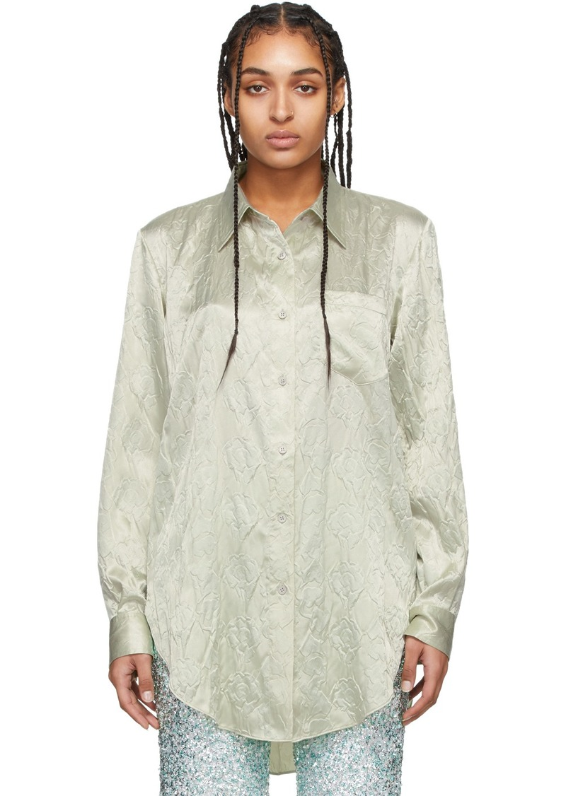 Acne Studios Green Sophi Shirt