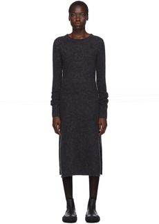 Acne Studios Grey Mohair Kathilde Dress