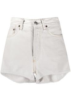 Acne Studios high-rise denim shorts
