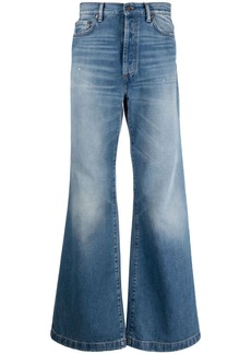 Acne Studios high-rise flared jeans