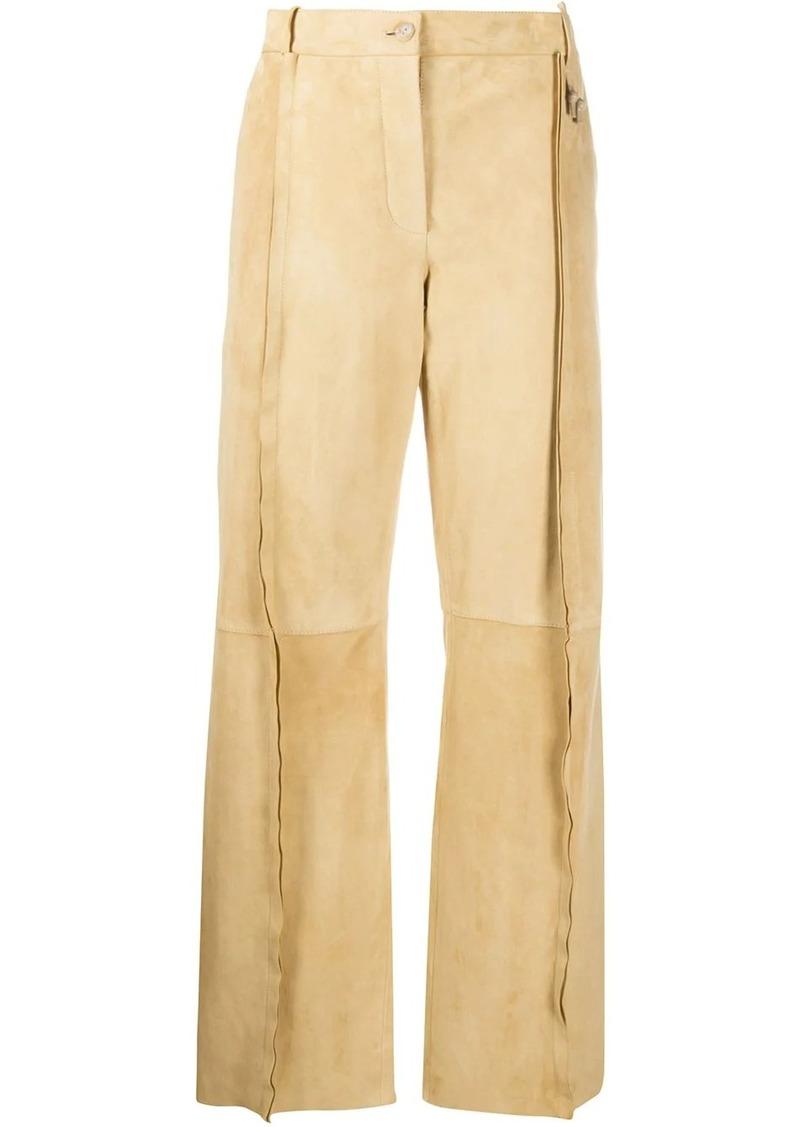 Acne Studios high-rise straight-leg trousers