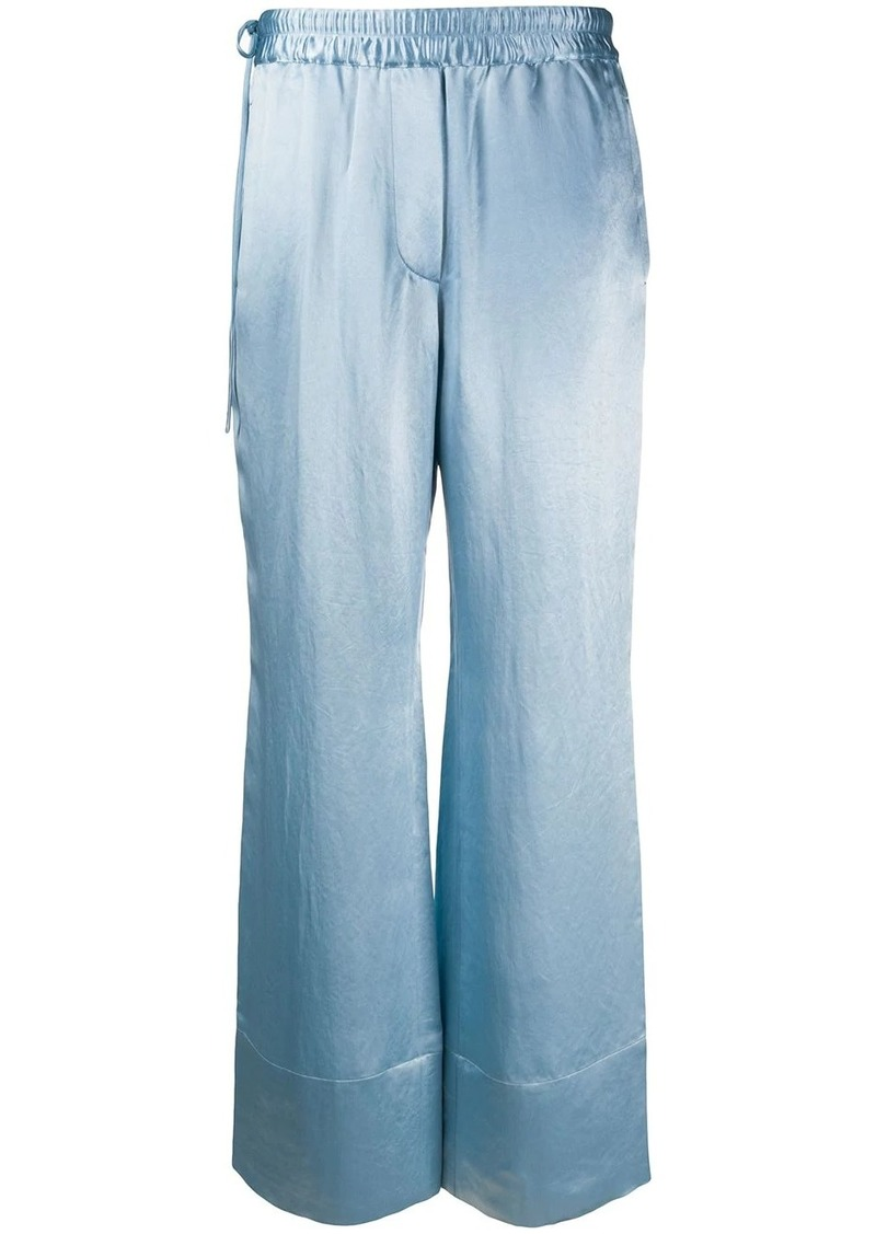 Acne Studios high-waisted straight trousers