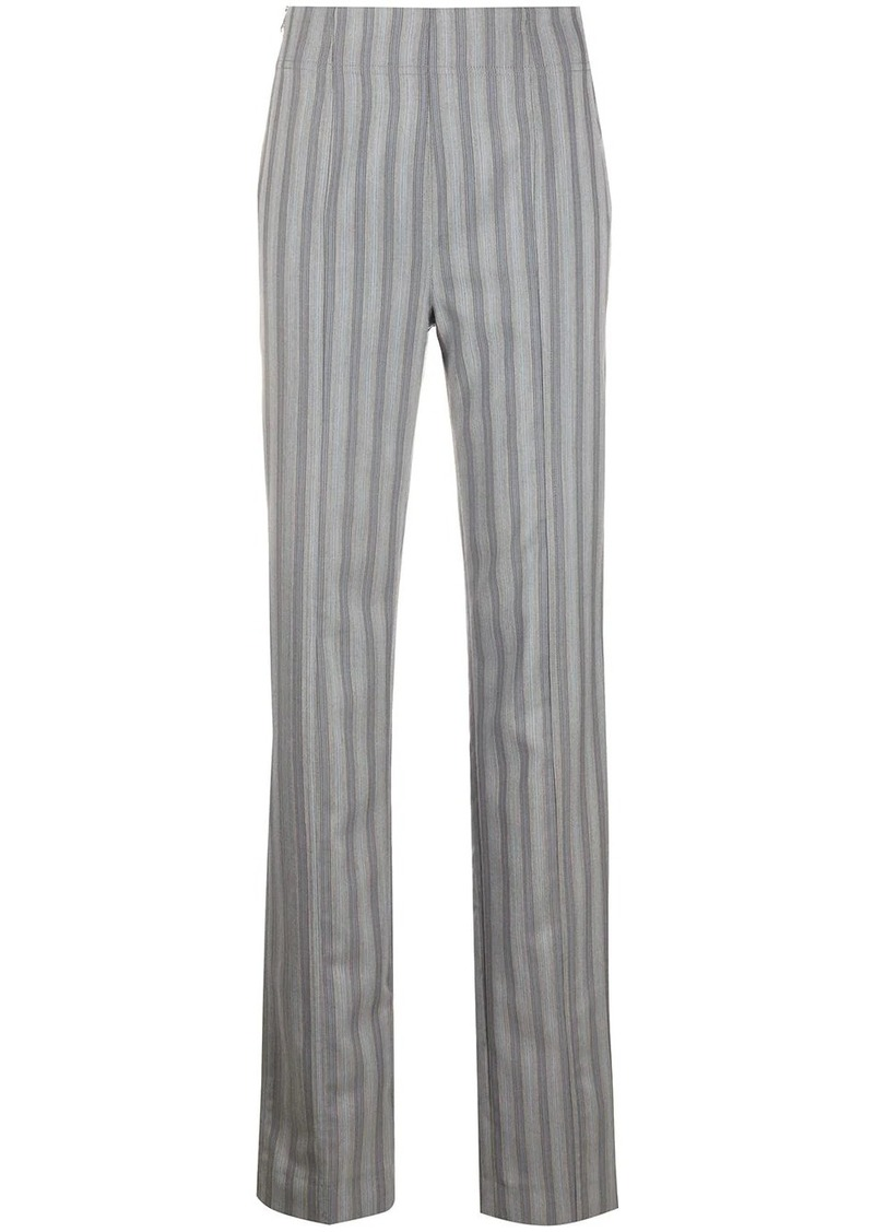 Acne Studios high waisted striped trousers