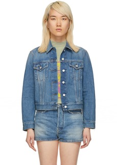 Acne Studios Indigo Blå Konst 1999 Denim Jacket