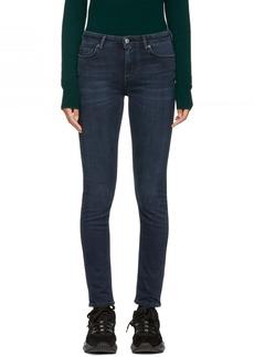 Acne Studios Indigo Blå Konst Climb Jeans