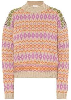 Acne Studios Intarsia wool sweater