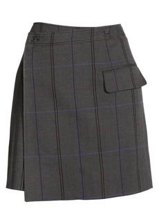 Acne Studios Itzelle Check Skirt
