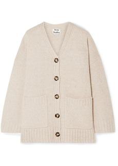 Acne Studios Kanita Oversized Wool-blend Cardigan