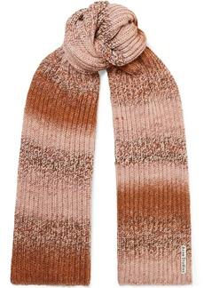 Acne Studios Kesi Ribbed-knit Scarf