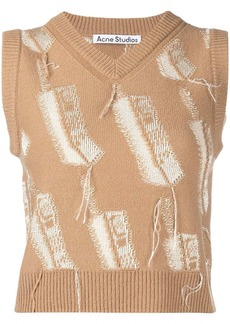 Acne Studios knitted wool vest