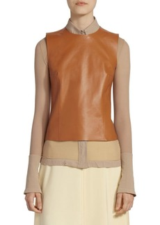Acne Studios Lara Leather Shell