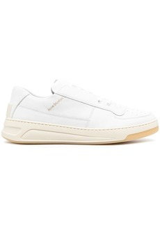 Acne Studios leather lace-up sneakers
