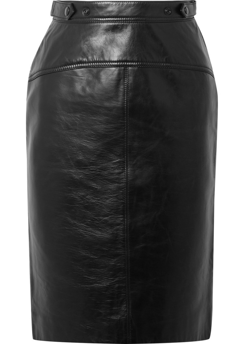 Acne Studios Leather Skirt