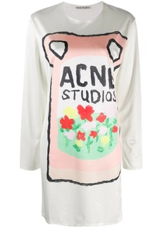 Acne Studios Ceramic-print dress