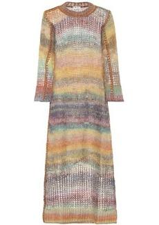 Acne Studios Losse mohair and alpaca-blend dress