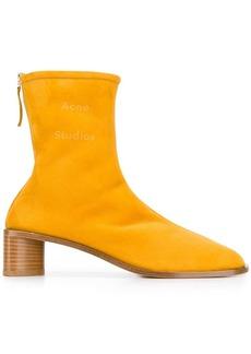 Acne Studios low cylinder heel boots