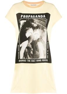Acne Studios magazine-print T-shirt dress