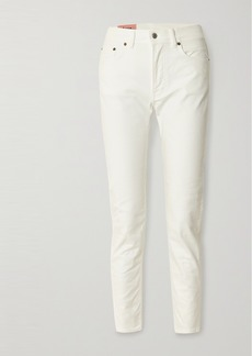 Acne Studios High-rise Slim-leg Jeans