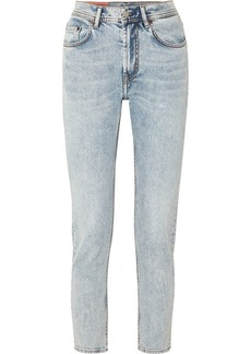 Acne Studios Melk High-rise Tapered Jeans