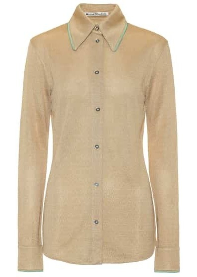 Acne Studios Metallic shirt