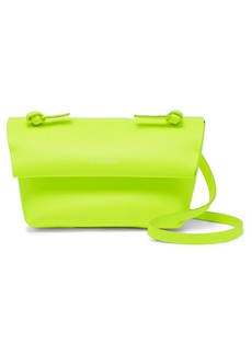 Acne Studios Mini Neon Leather Shoulder Bag