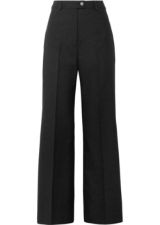 Acne Studios Modern Wool Wide-leg Pants
