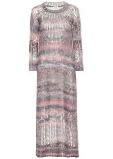 Acne Studios Mohair and alpaca-blend dress
